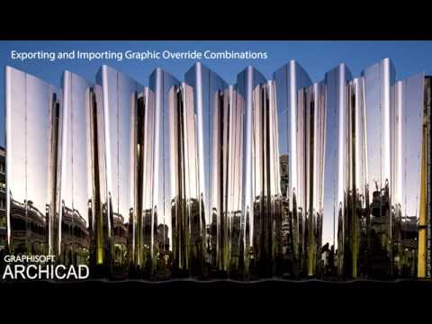 ARCHICAD 20 - Exporting and Importing Graphic Override Combinations