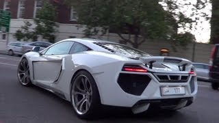 Arab Supercar Hhighlights In London - Summer 2012!!
