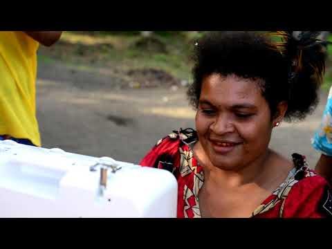 Brother lahjoitti ompelukoneita Papua-Uudessa-Guineassa - yhteistyössä Cool Earthin kanssa