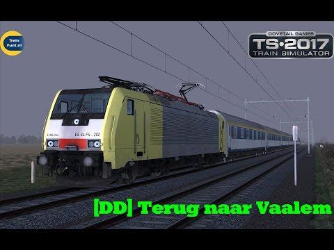 [DD] Terug naar Vaalem | vR BR189 | Train Simulator 2017