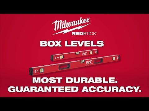 Milwaukee® REDSTICK™ Box Levels