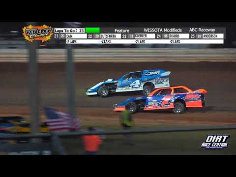 ABC Raceway 10/2/21 WISSOTA Modified Highlights - dirt track racing video image