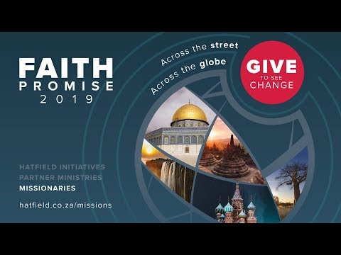 Faith Promise Season - Look Up, Risk More, Sacrifice All