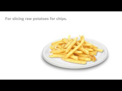 Pommes frites-skiva, extra tillbehör - Bosch MUM5