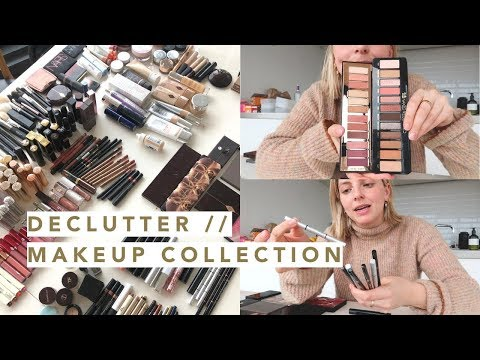 DECLUTTER // MY MAKEUP COLLECTION | Estée Lalonde