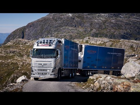 Volvo Trucks - Life on the road in western Norway