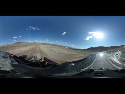 [In 360°] Jumping 40-ft Tabletop In An Off-Road Race Truck -- /DRIVE MOMENT