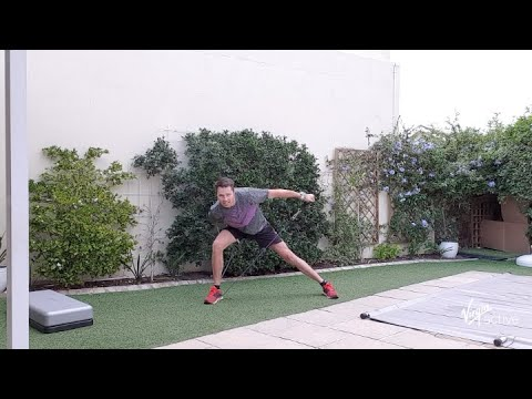 16 min strength resistance workout with Richard from Virgin Active | Vitality at Home
