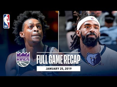 Full Game Recap: Kings vs Grizzlies | Fox & Hield Combine For 48 Points