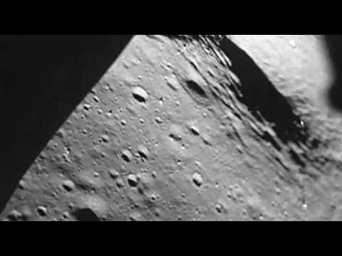 Glass Towers and Collapsed Glass Dome Can Be Seen From The Windows of the Lunar Lander Antares