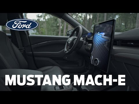 Mustang Mach-E   SYNC 4A   Ford Česká republika