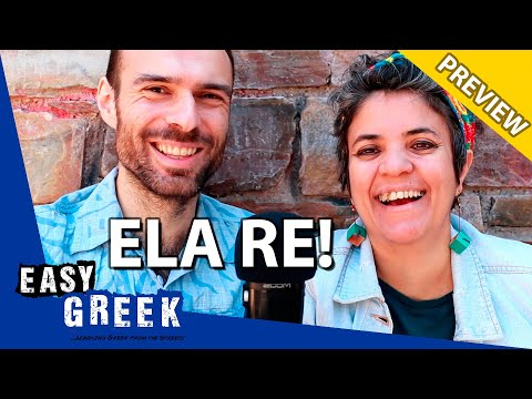 Every Greek uses these two words all the time! | Easy Greek 69 photo