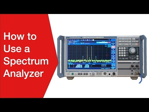 How to use a Spectrum Analyzer | Operating & Using a Spectrum Analyser - UCj5v6V19CtjoeFzuiiEQpRg