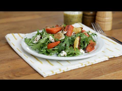 Hearty Winter Vegetable Salad ? Tasty