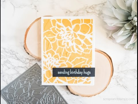 DIY Gold Embossing Paste