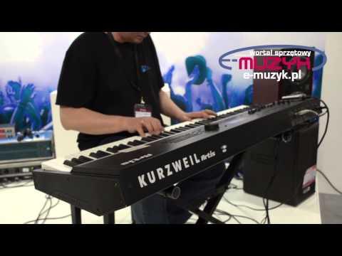 Musikmesse 2013 Kurzweil Artis demo - PROTOTYP!!!