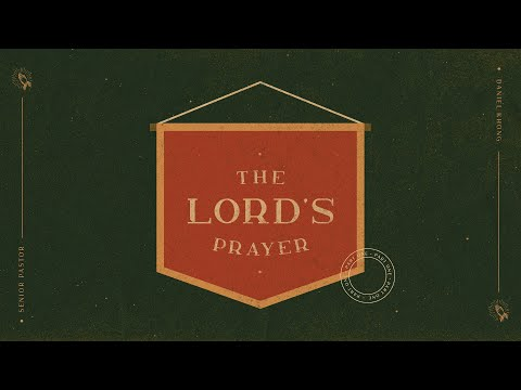 English Service  The Lords Prayer (Part 1)
