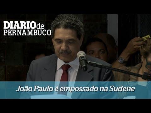 Jo�o Paulo assume Superintend�ncia da Sudene