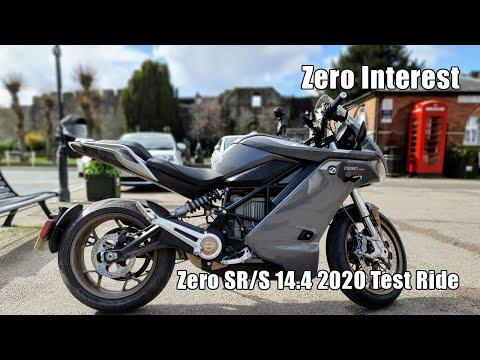 Zero SR/S 14.4 2020 Electric Motorcycle Test Ride