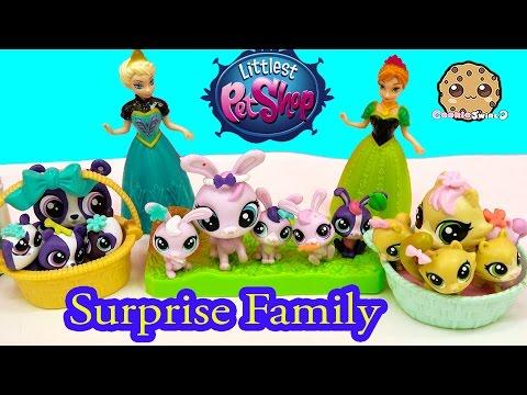 Mom and Babies Surprise Families Littlest Pet Shop Playset - Cookieswirlc LPS Video - UCelMeixAOTs2OQAAi9wU8-g