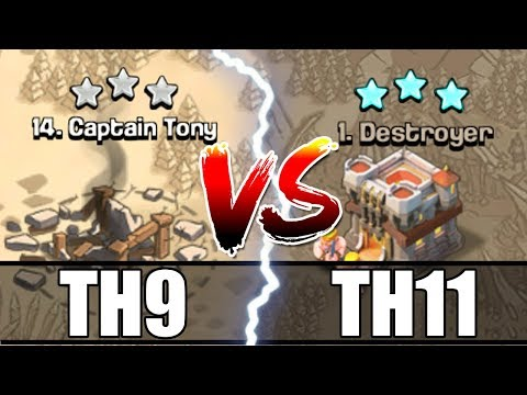 TH9 vs TH11 - Clash Of Clans - I MUST BE CRAZY!?