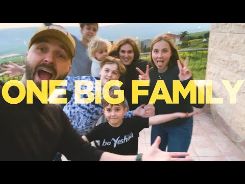 ONE BIG FAMILY from Israel & Around the World (Official Quarantine Video) Joshua Aaron