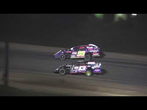 I.M.C.A A-Feature at Crystal Motor Speedway, Michigan on 08-14-2021!! - dirt track racing video image