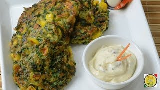 Spinach and Corn Fritters ..