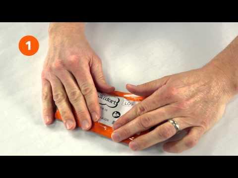 Dr. Comfort EXOS Functional Insert Demonstration