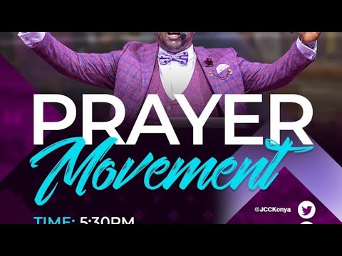 Jubilee Christian Church Parklands - Prayer Movement - 6th Nov 2020  Paybill No: 545700 - A/c: JCC