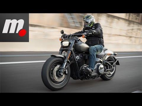 Harley Davidson Fat Bob 114 | Prueba / Test / Review en español | motos.net