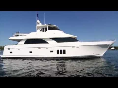 Ocean Alexander Skylounge for sale.  See it at the Seattle Boat Show