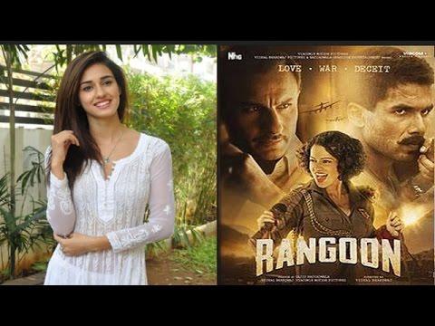 Disha Becoming Popular With Brands   'Rangoon' Gets A U/A Certificate