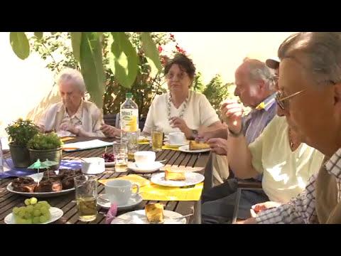 Alpakas beim Sommerfest im Mehrgenerationenhaus Radebeul