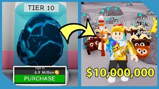 Buying The Most Expensive Pet In Roblox Pet Mining Simulator