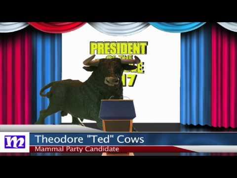 Bull's Speech   President of the Jungle 2017   MMNN Newsbreak   Many Miniatures Theater