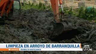 ¡Indignante! Con basura se ven los arroyos de Barranquilla