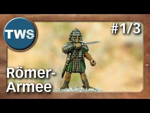 Bemalung: Römer-Armee für SAGA #1/3 / roman army (Tabletop-Miniaturen, Malathon, TWS)