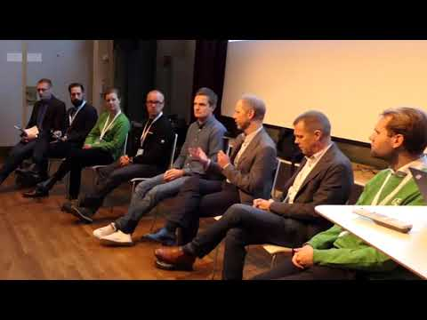 Fortum Charge & Drive seminarium på eCar expo i Stockholm, 17.11