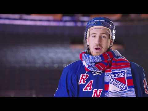 Chilly with The New York Rangers' Kevin Hayes