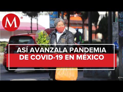 México suma 136 mil 917 muertes y un millón 571 mil 901 casos de covid-19