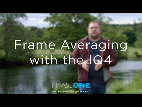 Learning | Automated Frame Averaging with the IQ4 | Phase One