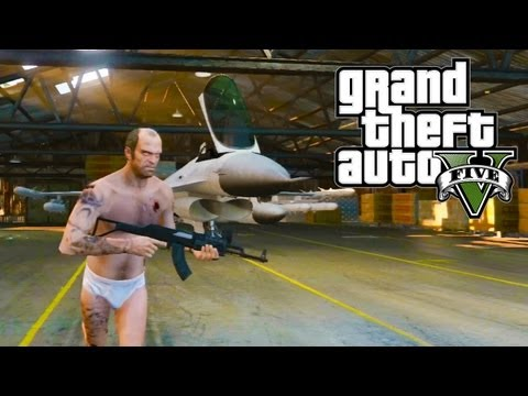 GTA 5 - How to get a Fighter Jet! (GTA V) - UC2wKfjlioOCLP4xQMOWNcgg
