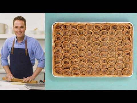 Cinnamon-Swirl Apple Slab Pie - The Slice with Greg Lofts