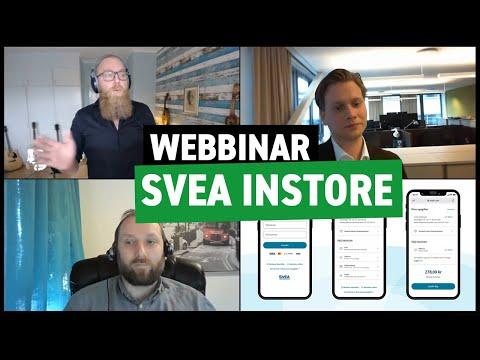 Enklare betalningar för omnikanal med Specter och Svea Instore (webbinar)