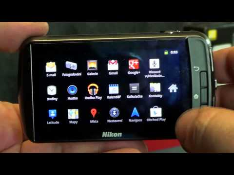 Videorecenze Nikon Coolpix S800c