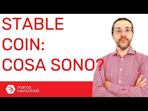 Cosa sono le stablecoin? (Crypto-euro, crypto-dollaro, ecc.)