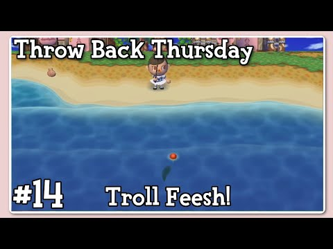 Throw Back Thursdays - Animal Crossing City Folk (Ep. 14)