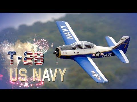 Durafly T-28 Trojan Naval Aviation Centennial Edition 1100mm - HobbyKing Product Video - UCkNMDHVq-_6aJEh2uRBbRmw
