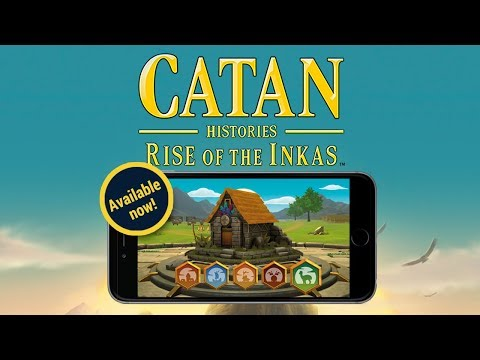 """Rise of the Inkas"" now available on Catan Universe!"